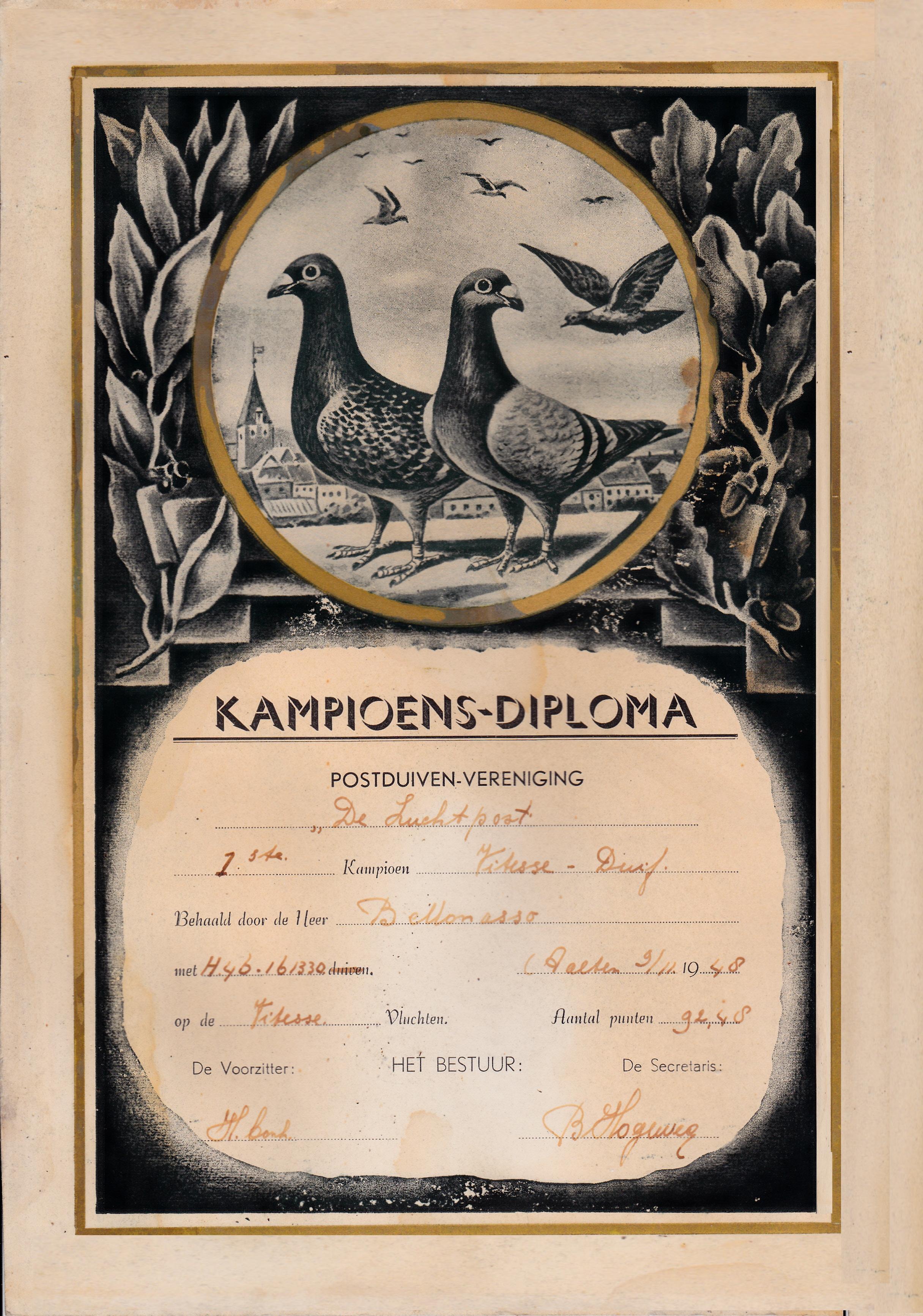 Diploma 1846