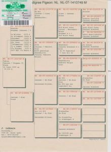 Tobias stamkaart